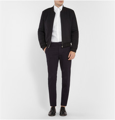 J.W.Anderson Striped Padded Wool-Blend Bomber Jacket