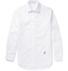 J.W.Anderson White Woven-Cotton Shirt
