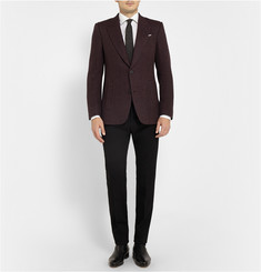 Berluti Herringbone Wool and Alpaca-Blend Blazer