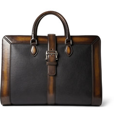Berluti Venezia Leather Weekend Bag