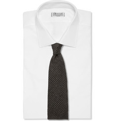 Drake's Woven Wool and Silk-Blend Tie