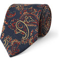 Drake's - Paisley-Patterned Silk Tie