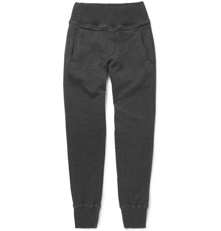 Bottega Veneta Tapered Cotton and Wool-Blend Sweatpants