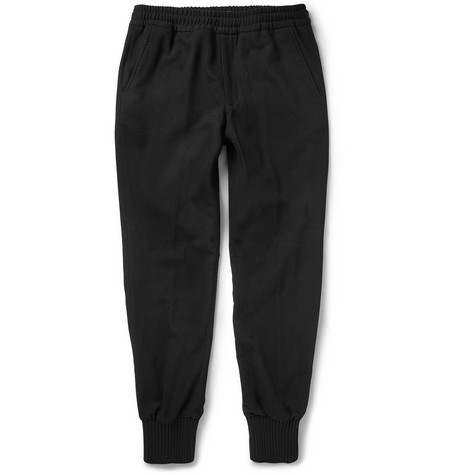 Bottega Veneta Tapered Wool and Angora-Blend Sweatpants