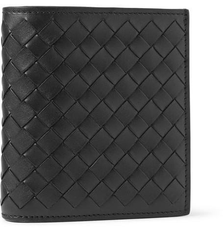 Bottega Veneta Intrecciato Leather Billfold Wallet