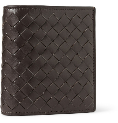 Bottega Veneta Intrecciato Leather Card Wallet
