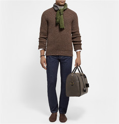 Bottega Veneta Dégradé Wool Scarf