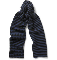 Marc by Marc Jacobs Zig-Zag Woven Wool Scarf