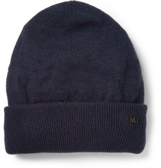 Marc by Marc Jacobs Colour-Block Cashmere Beanie Hat
