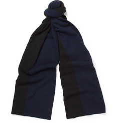 Marc by Marc Jacobs Colour-Block Cashmere Scarf