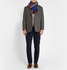 Paul Smith Shoes & Accessories Reversible Wool Scarf