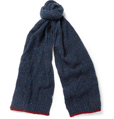 Paul Smith Shoes & Accessories Patterned Wool Scarf