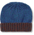 Paul Smith - Knitted Wool-Blend Beanie Hat