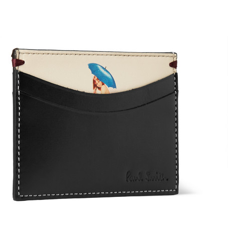 Paul Smith Shoes & Accessories Glamourama Naked Lady Leather Cardholder
