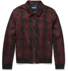Marc by Marc Jacobs Lightweight Check Cotton-Blend Jacket