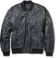 Marc by Marc Jacobs - Padded Cotton-Blend Jacquard Bomber Jacket