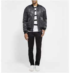 Marc by Marc Jacobs Padded Cotton-Blend Jacquard Bomber Jacket