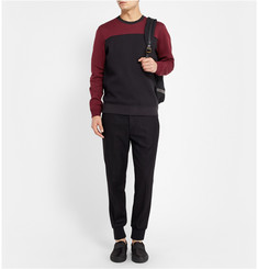 Marc by Marc Jacobs Double-Faced Cotton-Blend Jersey Sweater
