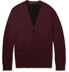 Marc by Marc Jacobs Colour-Block Silk, Cotton and Cashmere-Blend Cardigan