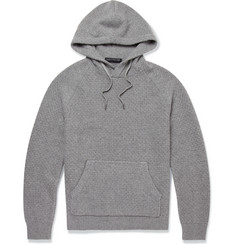 Marc by Marc Jacobs Waffle-Knit Cashmere Hoodie