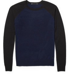 Marc by Marc Jacobs Colour-Block Cashmere Sweater
