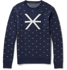 Marc by Marc Jacobs Intarsia Wool Sweater