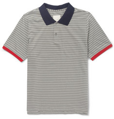 Band of Outsiders Contrast-Trim Cotton-Jersey T-Shirt