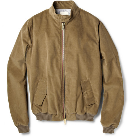 Band of Outsiders Harrington Corduroy Jacket