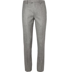 Band of Outsiders Black and Off-White Slim-Fit Houndstooth Wool Suit Trousers