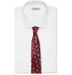 Richard James Embroidered Silk Tie