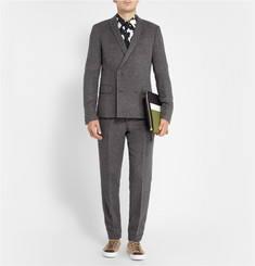 Kolor Slim-Fit Wool-Blend Blazer