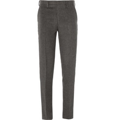 Kolor Tapered Brushed Wool-Blend Trousers