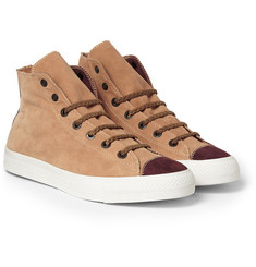 Kolor Suede High-Top Sneakers