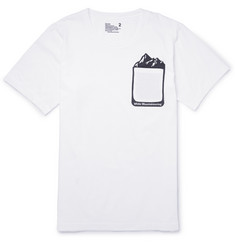 White Mountaineering Printed Cotton-Jersey T-Shirt
