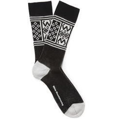 White Mountaineering Intarsia Knitted Socks
