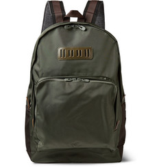 White Mountaineering Two-Tone Shell Backpack