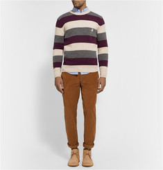 Maison Kitsuné Striped Wool Sweater