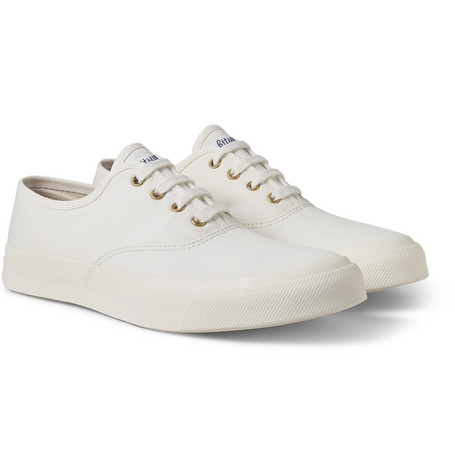 Maison Kitsuné Cotton-Canvas Sneakers