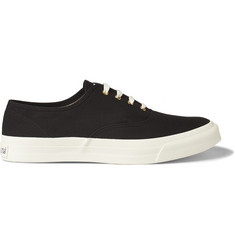 Maison Kitsuné Canvas Low Top Sneakers