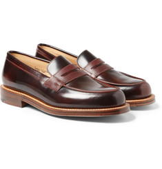 Grenson G-Lab Leather Penny Loafers