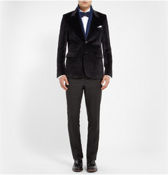 Paul Smith Slim-Fit Velvet Blazer