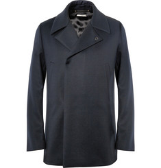 Paul Smith Woven-Wool Peacoat