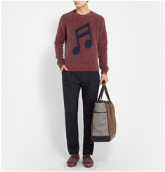Paul Smith Music Note Mohair-Blend Sweater