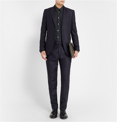 Paul Smith Slim-Fit Printed Cotton-Twill Shirt