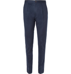 Paul Smith Navy Wool Trousers