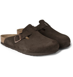 Birkenstock - Boston Suede Sandals