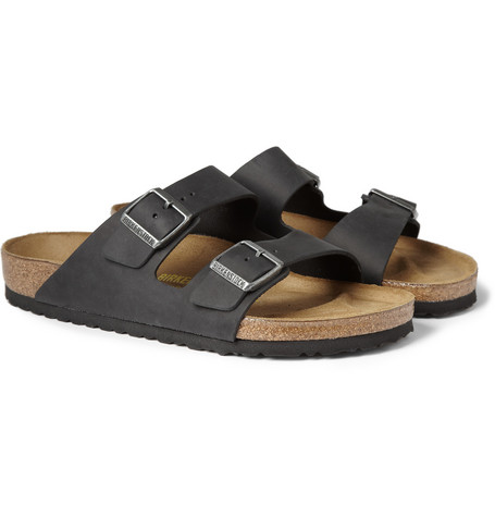 Birkenstock Arizona Matte-Leather Sandals