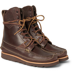 Yuketen Leather  Lace-Up Boots