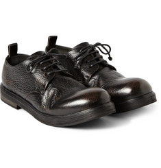 Marsell Textured-Leather Derby Shoes