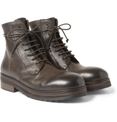 Marsell Rubber-Soled Leather Boots